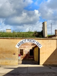 "Terezin Concentration Camp: ""Work sets you free"""