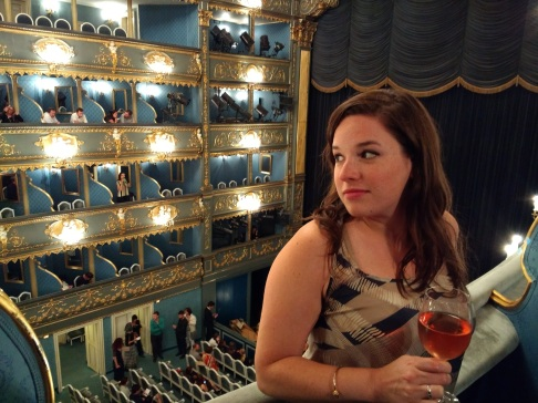 Rose at the opera