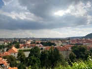 Gorgeous Prague views from Villa Richter vineyard