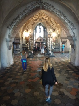 Pit stop at Kutna Hora, the bone church