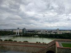 Views of new Bratislava, the Soviet-inspired side