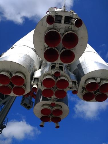 VDNH, Moscow - Gagarin's rocket