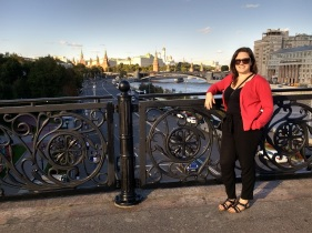 Overlooking Moscow!