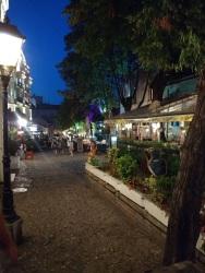 Skardalija, the old cobblestone Bohemian street in Belgrade