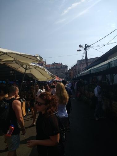 Farmer's market, Belgrade