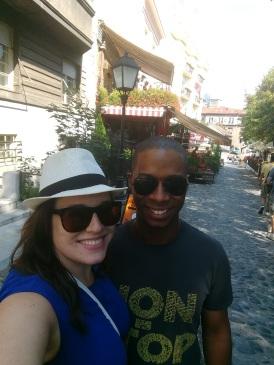 Sean is here!!! Walking tour!