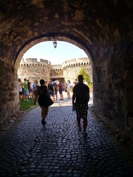 Heading to Kalemegdan fortress