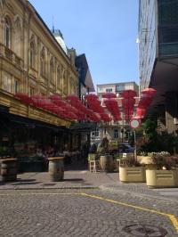 Belgrade scenes: Manufaktura restaurant and bar