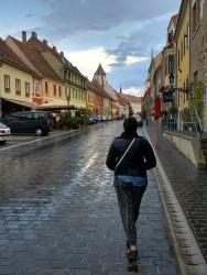 Budapest Castle district, which stole my heart despite the rain