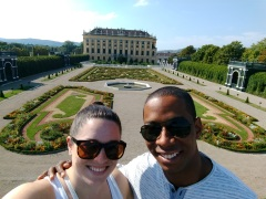 Gorgeous Schonbrunn Palace -- no wonder the Hapsburgs spent so much time here