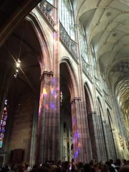 Magical light at St. Vitus Cathedral, Prague Castle