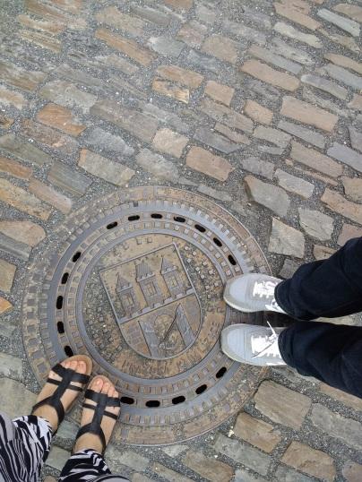 Prague Castle, Golden Lane sewer