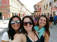 Leah, me and Kelly in Novi Sad