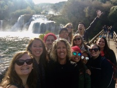 The whole crew at Krka