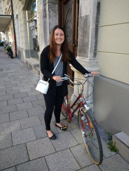 Kelly randomly picked up a new bike in Munich