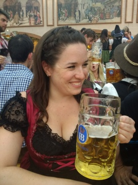 German braids, German beer