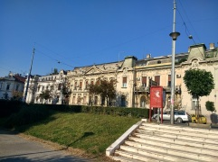 Austrian-style architecture in Zemun