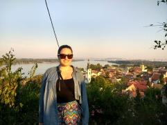 Saying farewell to Belgrade: Zemun viewpoint