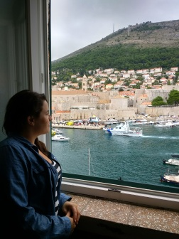 Airbnb views: port of Dubrovnik