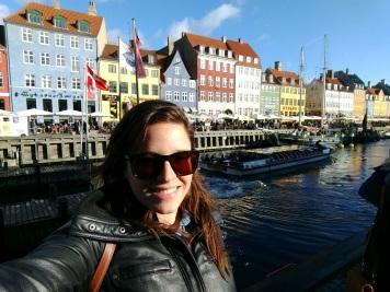 Nyhavn, in Copenhagen