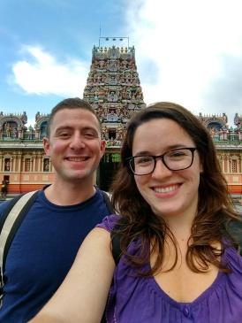 Hindu temple in Brickfields neighborhood with Max