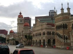 Sultan Abdul Samad building, now government offices