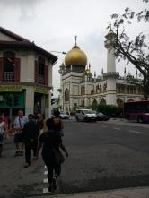 Muslim quarter in Singapore