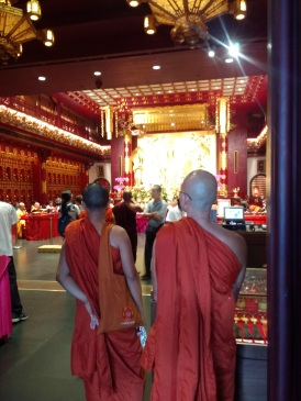 Visiting Chinese temples in Singapore