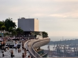 The pool at Marina Bay Sands