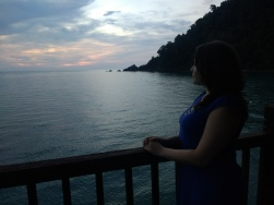 Overlooking the bay at the Berjaya, Langkawi