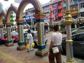 Indian neighborhood of Kuala Lumpur