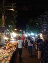 Sunday Walking Street -- best market in Chiang Mai