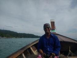 Boat tripping in Koh Phi Phi