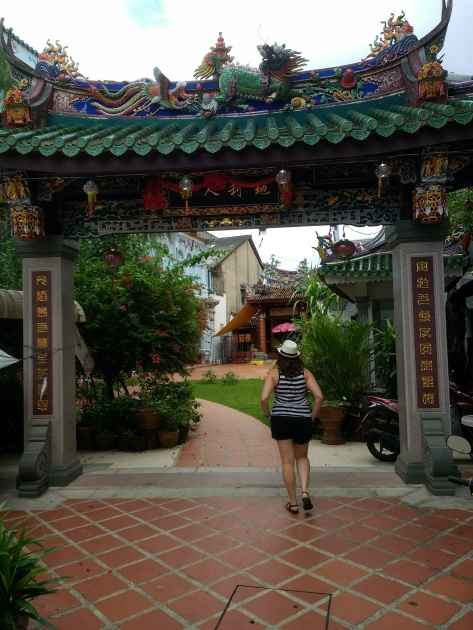 Hidden temple in Old Town Phuket