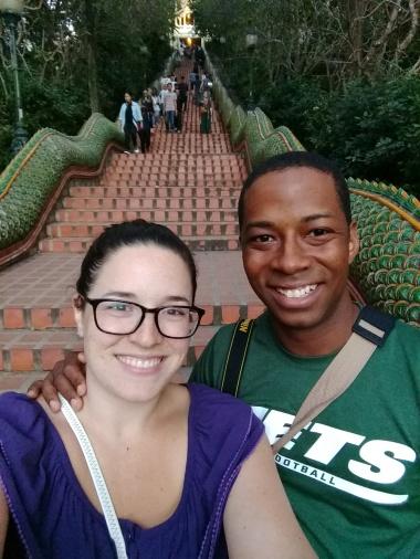 Staircase to Wat Soi Duthep