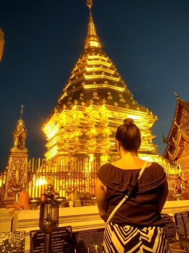 Nightime Wat Soi Duthep