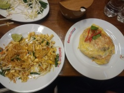 Pad Thai: traditional and modern