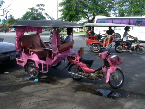 The tuk-tuks here are cute