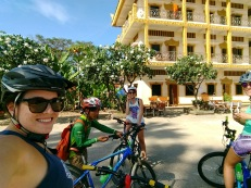 Bike tour with Thayer and Arestia