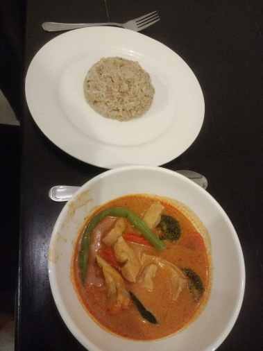 Made my own Penang curry cause I missed Thai food