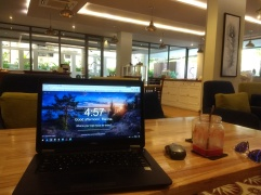 Working from Enso cafe