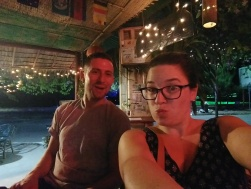 Max and I, Kampot semi-outdoor bar
