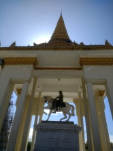 King Norodom statue
