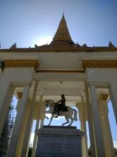 King Norodom statue