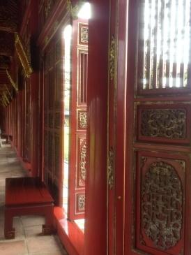 The palace at Hue citadel