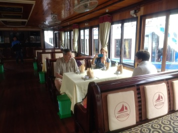 Halong Bay: our own boat