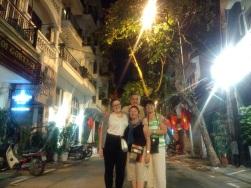 Last stroll down Hanoi streets!