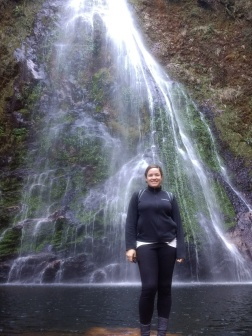 Just me at the waterfall