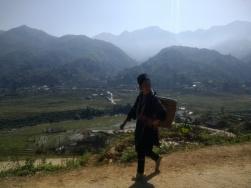 Local Hmong woman