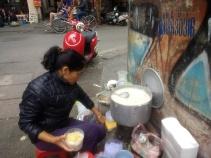 Pork porridge!